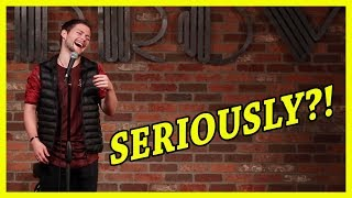 Comedian Guesses Girl's Name Based On Her Laugh
