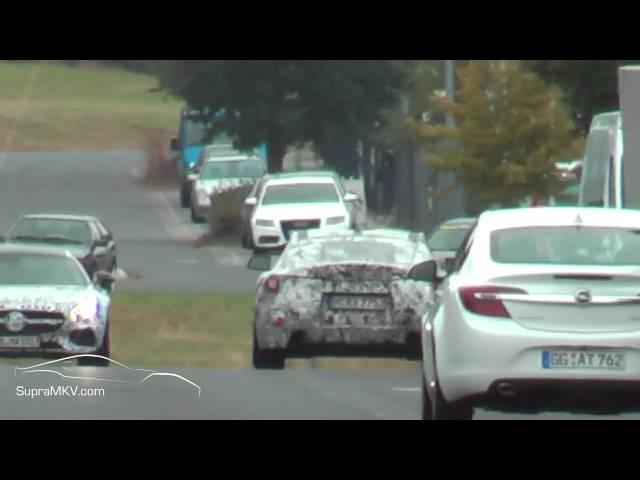 2018-2019 Toyota Supra (MKV) Spotted at BMW M Test Center Nurburgring