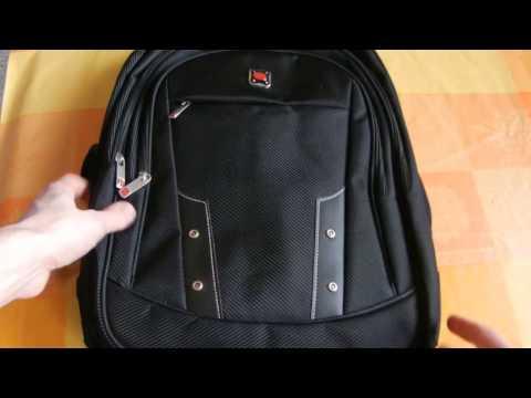 Banggood Men Women Polyester Business Big Capacity Computer Shoulders Bag Backpack