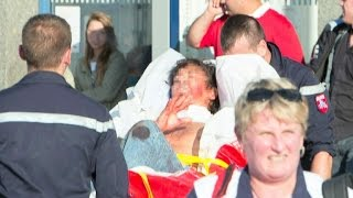Train attack foiled by American trio