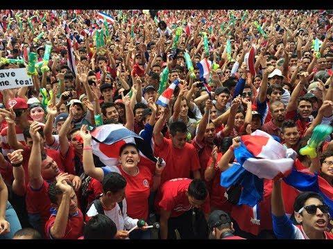 Brasil 2014: Pura Vida y alegría en Costa Rica
