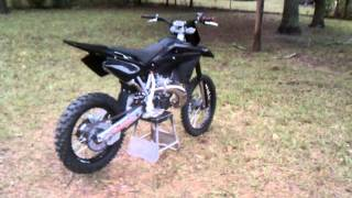 6. Blacked out 2011 Husqvarna wr 300
