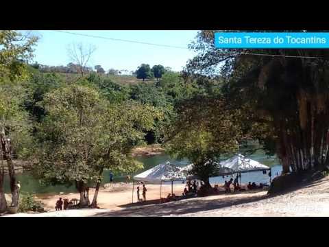 Praia do aconchego em Santa Tereza do Tocantins