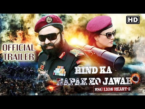 Hind Ka Napak Ko Jawab MSG Lionheart 2 Movie Picture