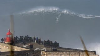 Surfing A Giant Wave