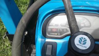 8. Fuse location on New Holland TC25