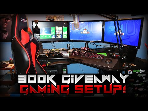 setup - 300000 KontrolFreek Giveaway & Gaming Setup - Enjoy! :D ☆ Enter for XB1 - http://www.GiveawayEZ.com/0ZauyLWZOgs ☆ Enter for PS4 - http://www.GiveawayEZ.com/CAc6VnGd4QQ ...