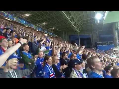 Download Video Euro 2016 Portugal Vs Iceland Iceland Fans Singing