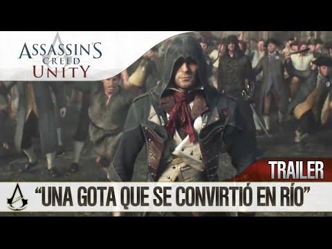 assassins - A veces una simple gota puede ser el detonante de una revolución. El cambio que una a millones de personas ante la injusticia. Esto es Assassin's Creed Unity. #NosUnimos #Ubisoft #ACUnity...