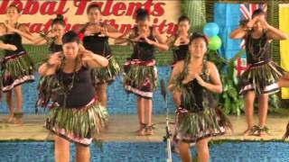 A Niuean dance by the girls from Moea House of Niue High School . Performed at the Niue High School 'Global Talents' Ethnic...