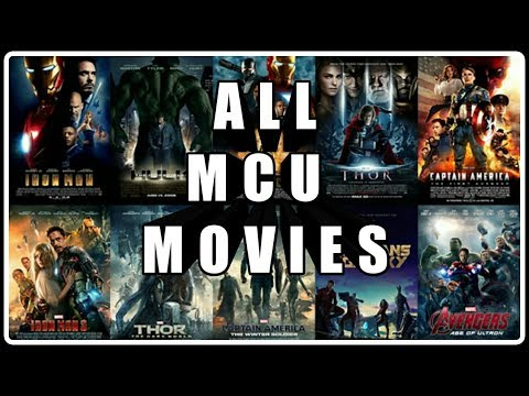 MARVEL CINEMATIC UNIVERSE All Time Favorite Movies In Marval Studio