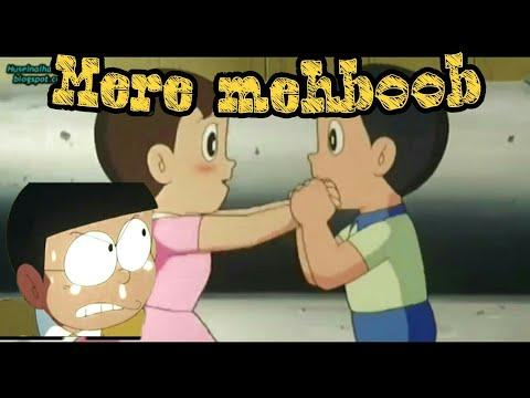 Mere Mehboob Song | Doraemon verison | Nobita & Sizuka | official