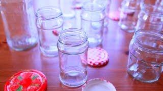 Cómo esterilizar frascos