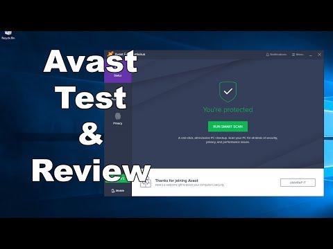 Avast FREE Antivirus Test & Review
