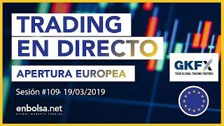 Estrategias de TRADING en FOREX Apertura Europea #109