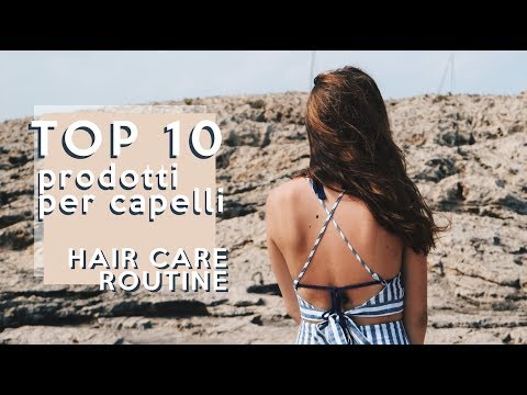 TOP 10 PRODOTTI per CAPELLI LUNGHI e SANI // Hair Care Routine