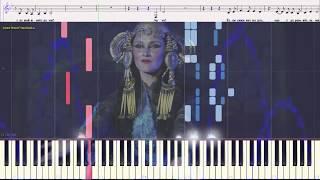 Арго - Гвердцители Тамара (Ноты и Видеоурок для фортепиано) (piano cover)