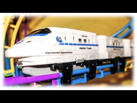 Video For Children TRAINS - Toy Roller Coaster Trains for Children Videos Train Toddlers Railway
