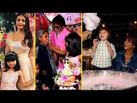 INSIDE Aaradhya Bachchan's Birthday Bash 2017- AbR