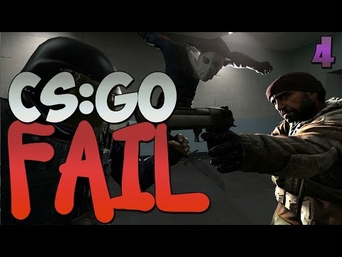 CS:GO FAIL #4 - Слендер!