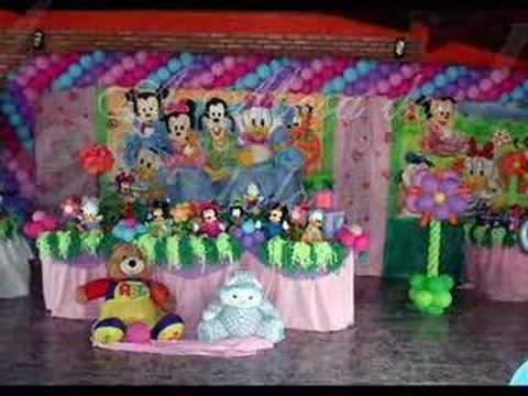 Decoraciónes de fiestas infantiles Disney bebé - Imagui