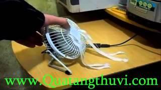 Quạt Làm Mát Usb Lồng Sắt Loại Nhỏ - Www.quatangthuvi.com