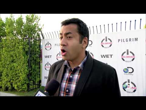 The Big Brain Theory: Pure Genius Premiere Party - Kal Penn Interview