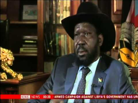 South sudan - In Juba, Stephen Sackur talks to the president of South Sudan, Salva Kiir Mayardit. A ceasefire has been agreed between his government and rebel forces led b...
