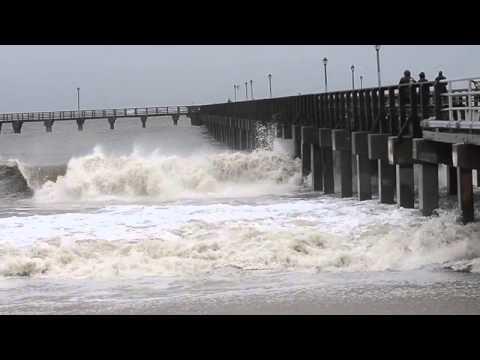 L'arrivo dell'uragano Sandy