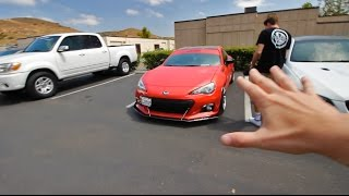 Getting the boosted BRZ back :) by Evan Shanks