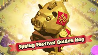 Clash of Clans: Barbarian King's Run (Lunar New Year 2019)
