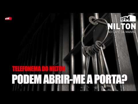 Nilton liga a uma empresa de abertura de portas... para o tirar de Custóias!