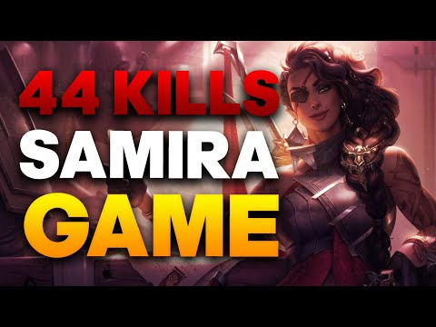 Grandmaster Samira ADC Gameplay - THIS Is How You Play Samira | League of Legends
