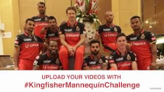 KingfisherMannequinChallenge with Royal Challengers Bangalore Players