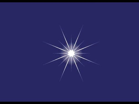 How to Draw a Sparkling Star in Adobe Illustrator CS6