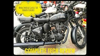 6. 2018 Royal Enfield Classic 500 (ABS) Stealth Black In-Depth Review #ABS #EFI | Why one Spark plug