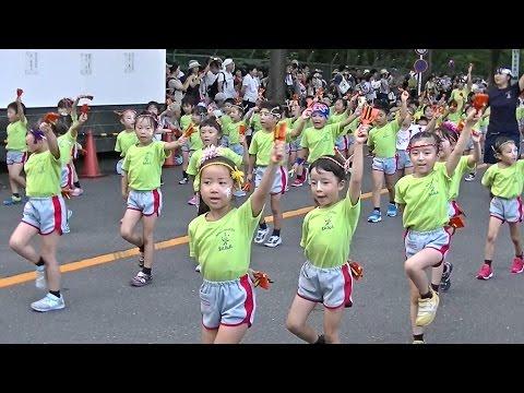 南武学園なるこ隊さいか幼稚園 よさこいフェスタ朝霞市民祭り彩夏