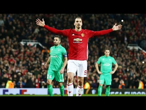 Manchester United vs Saint Etienne 3-0  Goals & Extended Highlights Europa League 16-02-2017 HD