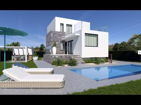 Ultra-modern villa in Spain at the Costa Blanca in Polop at a great price!