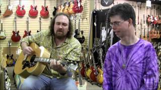 Ted Wulfers at Norman's Rare Guitars
