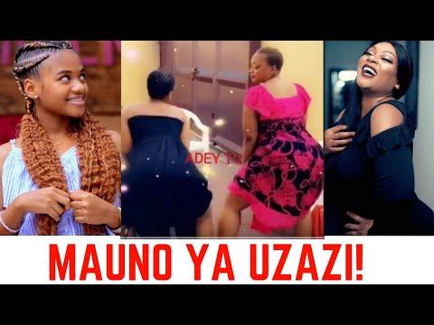 Kajala na Mwanae Wakishindana Kukata Mauno, Baada ya Kufeli!!!