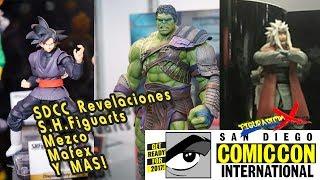 Todo lo que tienes que saber, muchisimas noticias sale a la luz con la San Diego Comic Con de 2017. Desde Mezco, Mafex, SH...