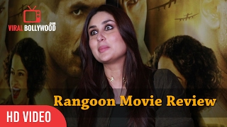 Nonton Kareena Kapoor Khan Review on Rangoon Movie   Saif Ali Khan, Kangana Ranaut, Shahid Kapoor Film Subtitle Indonesia Streaming Movie Download