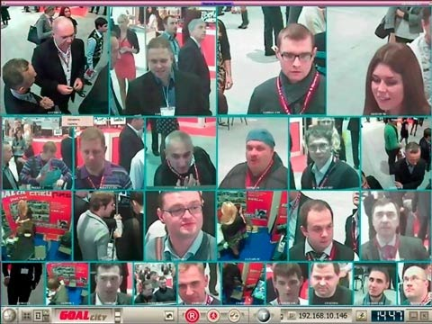 Видеоаналитика в толпе - videosemantika