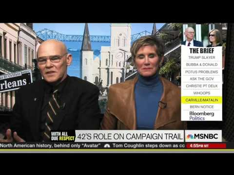 James Carville Slips Up On Live TV and Tells the Truth About Bill Clinton