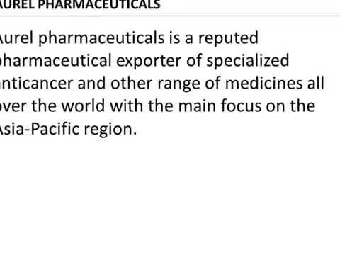 Top Best Selling Anticancer Drugs