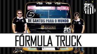 Santos FC e Fórmula Truck oficializaram parceria no inicio de julho, em evento em São Paulo, a criação de uma equipe para...