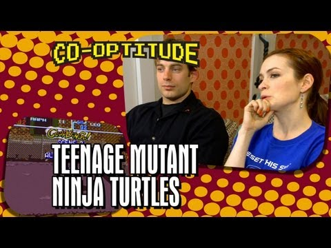 Felicia Day, Ryon Day and Turtle Power: Co-Optitude Episode 6 - TMNT: Turtles in Time (видео)