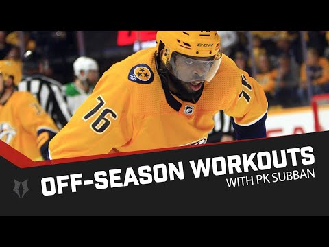 PK Subban off-season workouts for the NHL season