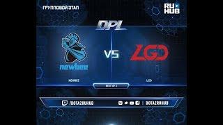 NewBee vs LGD, DPL 2018, game 2 [Mila, Inmate]